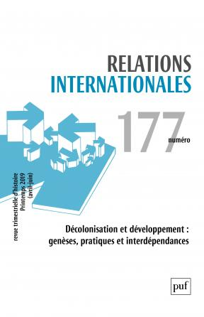 Relations internationales 2019, n° 177