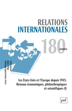 Relations internationales 2019, n° 180
