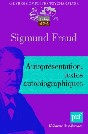 Autoprésentation. Textes autobiographiques