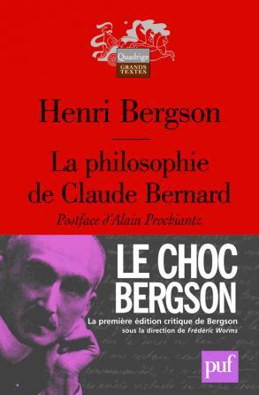La philosophie de Claude Bernard