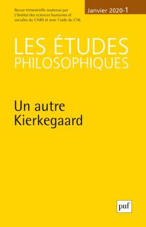 études philosophiques 2020, n° 1