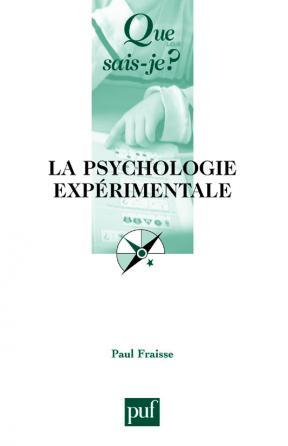 La psychologie expérimentale