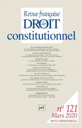 RFDC 2020, n° 121