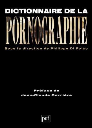 Dictionnaire de la pornographie