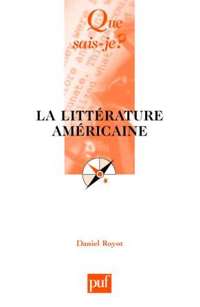 La littérature américaine