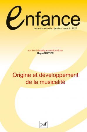 Enfance 2020, N.72(1)