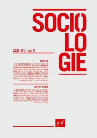 SOCIOLOGIE 2020, N.1