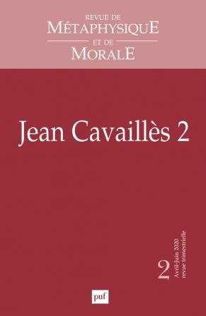 Revue de métaphysique et de morale, n°2-2020