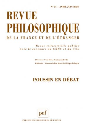 Revue philosophique 2020, T.145 (2)
