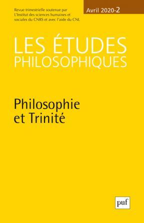 Les études philosophiques n° 2, 2020