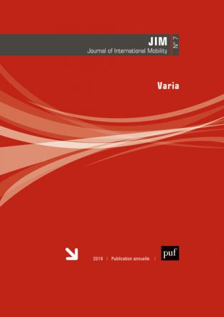 Journal of International Mobility 2019