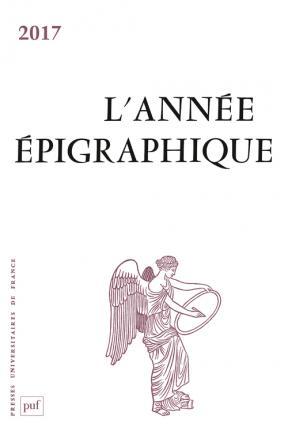 ANNEE EPIGRAPHIQUE, VOL. 2017