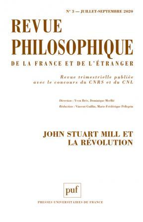 Revue philosophique 2020, t. 145 (3)