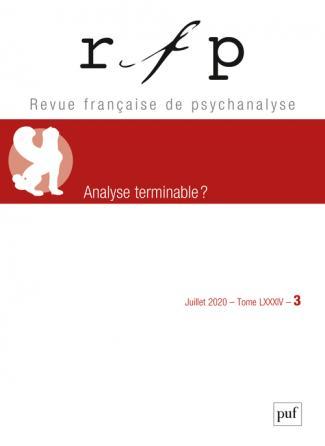 Revue française de psychanalyse 2020, t. 84, n° 3