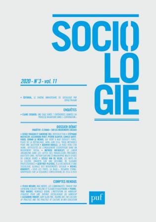Sociologie 2020, N.3