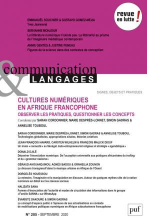 Communication & Langages n° 205