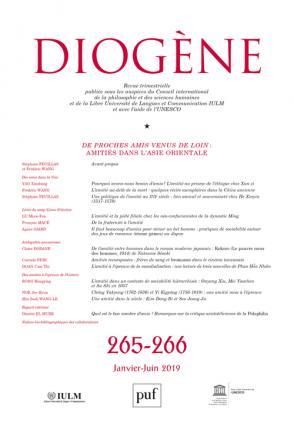 Diogène 2019, n°265