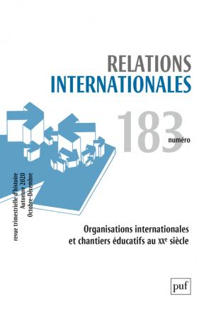 Relations internationales 2020, N.183