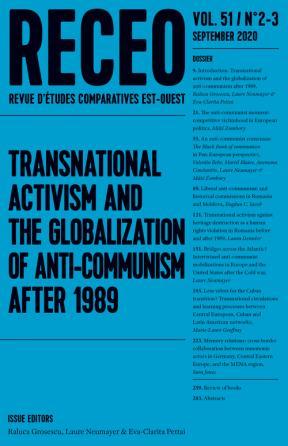 Revue d'études comparatives Est-Ouest 2020 (2-3)