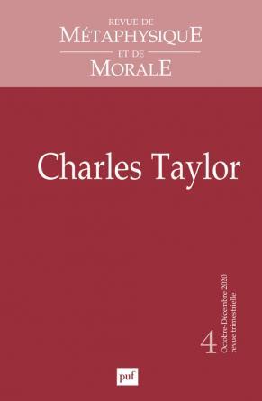 Revue de métaphysique et de morale, 2020, N°4