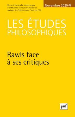 Les études philosophiques 2020, N.4