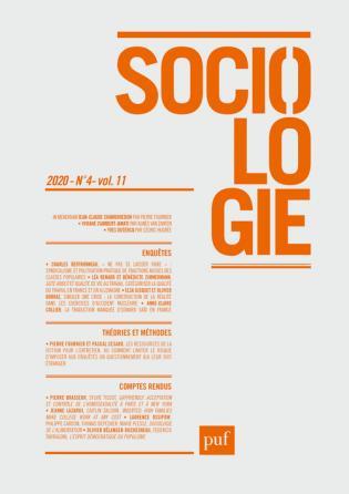 Sociologie 2020, n° 4