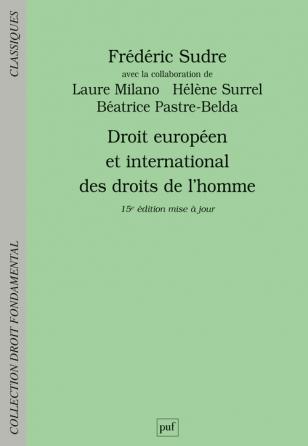 Droit européen et international des droits de l'homme