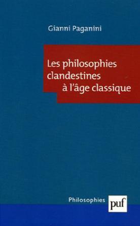 Les philosophies clandestines à l'âge classique
