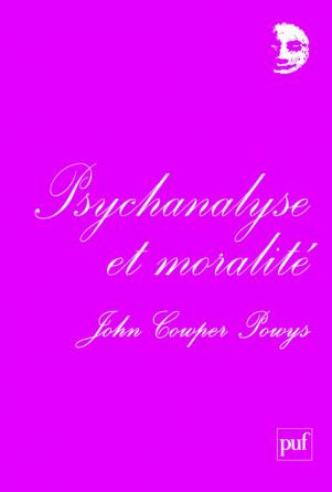 Psychanalyse et moralité