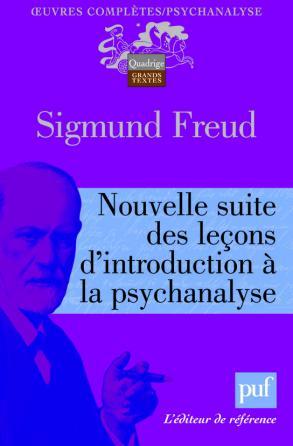 Nouvelle suite des leçons d'introduction à la psychanalyse