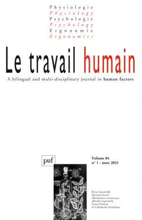 LE TRAVAIL HUMAIN 2021-1, VOL. 84, N.1