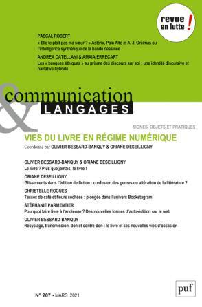 Communication & Langages, n° 207