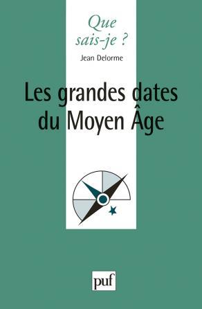 Les grandes dates du Moyen Âge