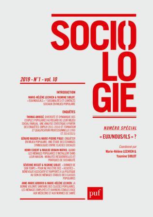 Sociologie 2019, n° 1