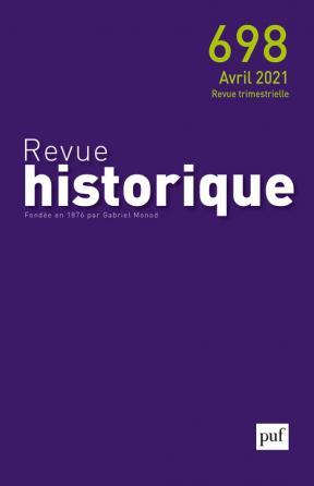 REVUE HISTORIQUE, 2021 - 698