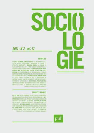 SOCIOLOGIE 2021, N.2