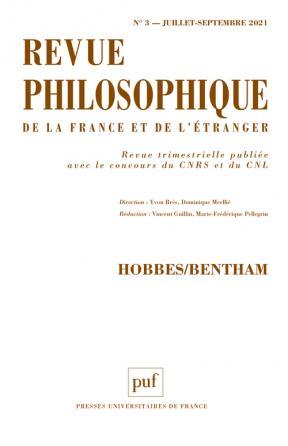 Revue philosophique 2021, t. 146(3)