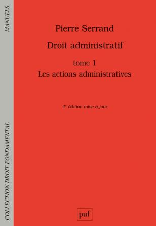 Droit administratif. Tome 1