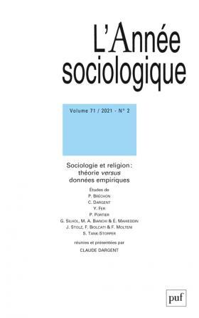 L'Année sociologique 2021-2