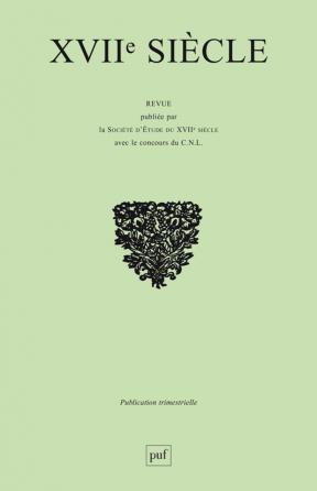 XVIIe siècle 1995, n° 189