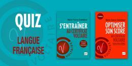 Jeu-concours - Le quiz de la langue française