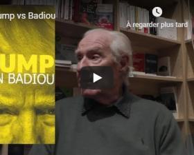 Alain Badiou à la librairie Tropiques