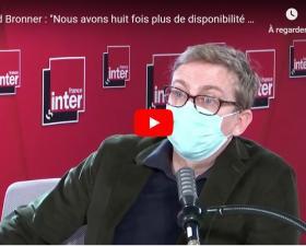 """Gérald Bronner - """"Apocalypse cognitive"""" - Invité du Grand entretien du 7/9 de France Inter"""
