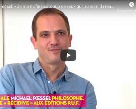 Michaël Fœssel - invité de La Midinale -Regards