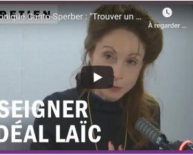 Monique Canto-Sperber - Les Matins de France Culture - 2 novembre 2020