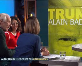 """Alain Badiou - """"Trump"""" - C Politique sur France 5"""