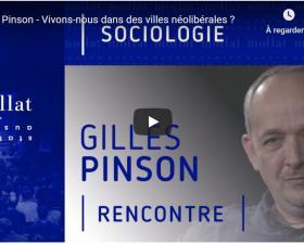 La ville néolibérale - Gilles Pinson à la librairie Mollat