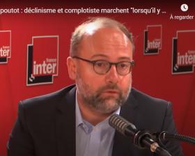 """Johann Chapoutot sur France Inter : Déclinisme et complotiste marchent """"lorsqu'il y a de grands traumatismes sociaux"""""""