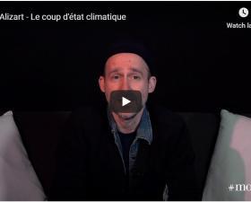 """""""Le coup d'état climatique"""" présenté par Mark Alizart"""