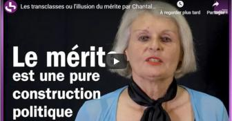 Chantal Jaquet – La fabrique des transclasses